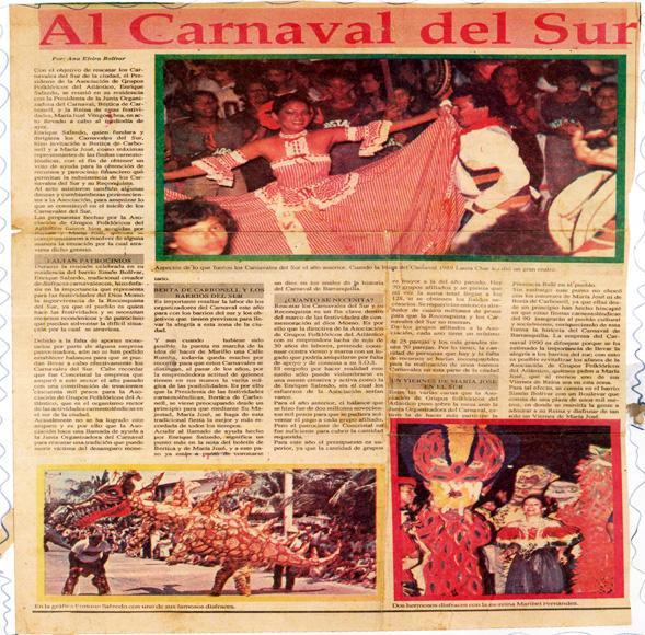 7. DIARIO - AL CARNAVAL DEL SUR