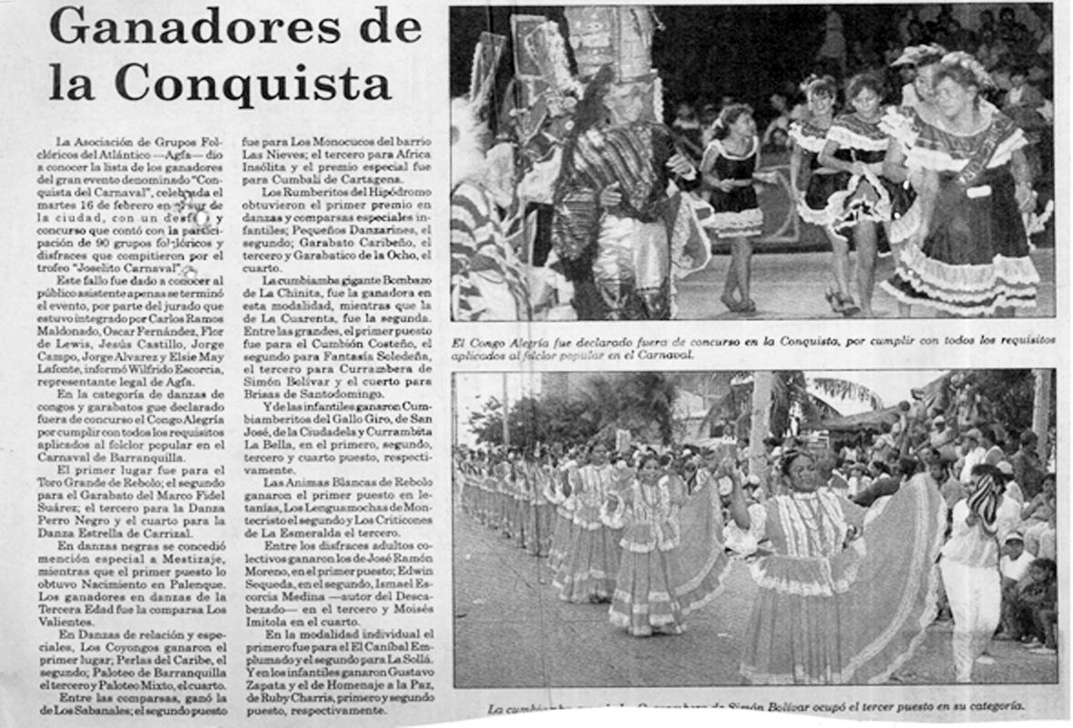 8. DIARIO - GANADORES DE CONQUISTA