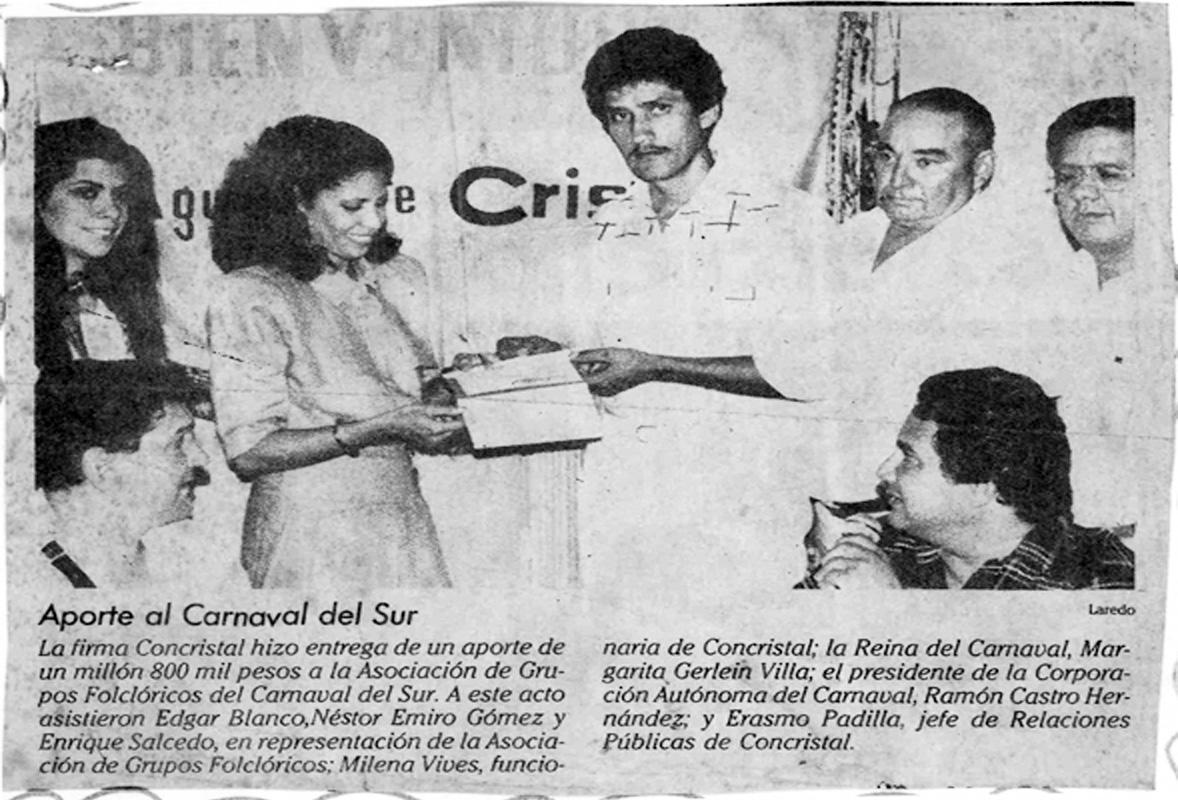 9. DIARIO - APORTES AL CARNAVAL DEL SUR